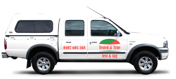 Tested and True Van and logo