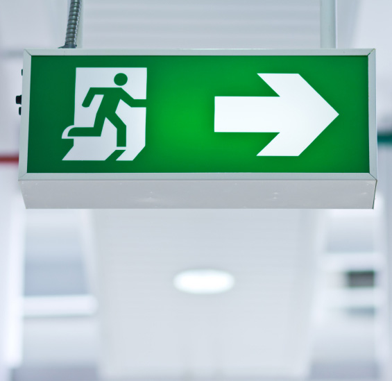 Exit sign Testing